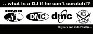 What is a DJ if he can't scratch!?