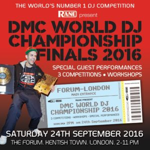 DMC WORLD DJ CHAMPIONSHIP FINALS 2016