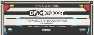 DMC Italy 2016 - 22 Maggio 2016 @Teatro Parenti, via Pier Lombardo 14 - Milano