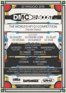 DMC Italy 2016 - 22 Maggio Teatro Parenti - Via Pier Lombardo 14, Milano