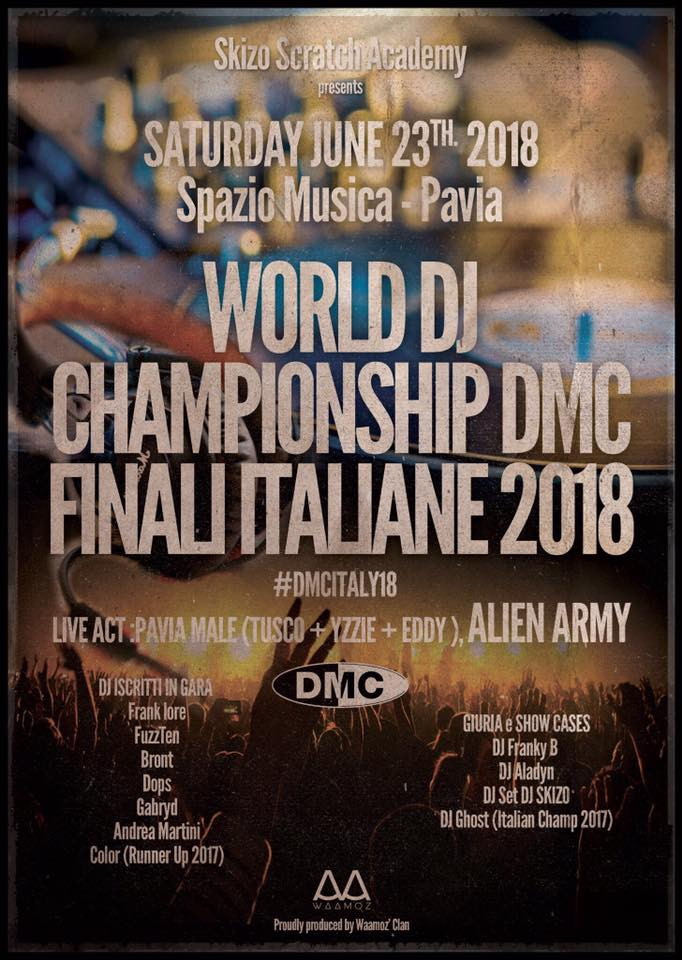 SKIZO SCRATCH FOUNDATION presenta: DMC Finali Italiane 2018