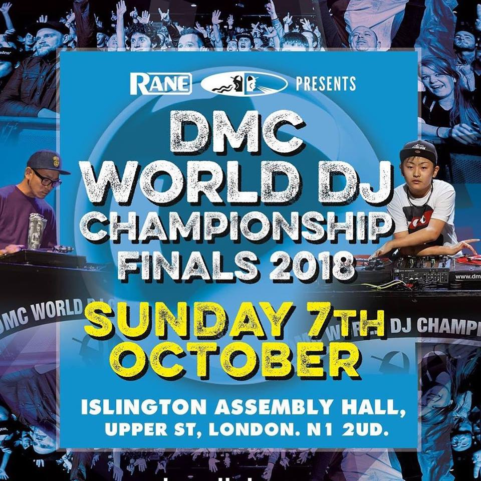 Rane presents The 2018 DMC World DJ Championships