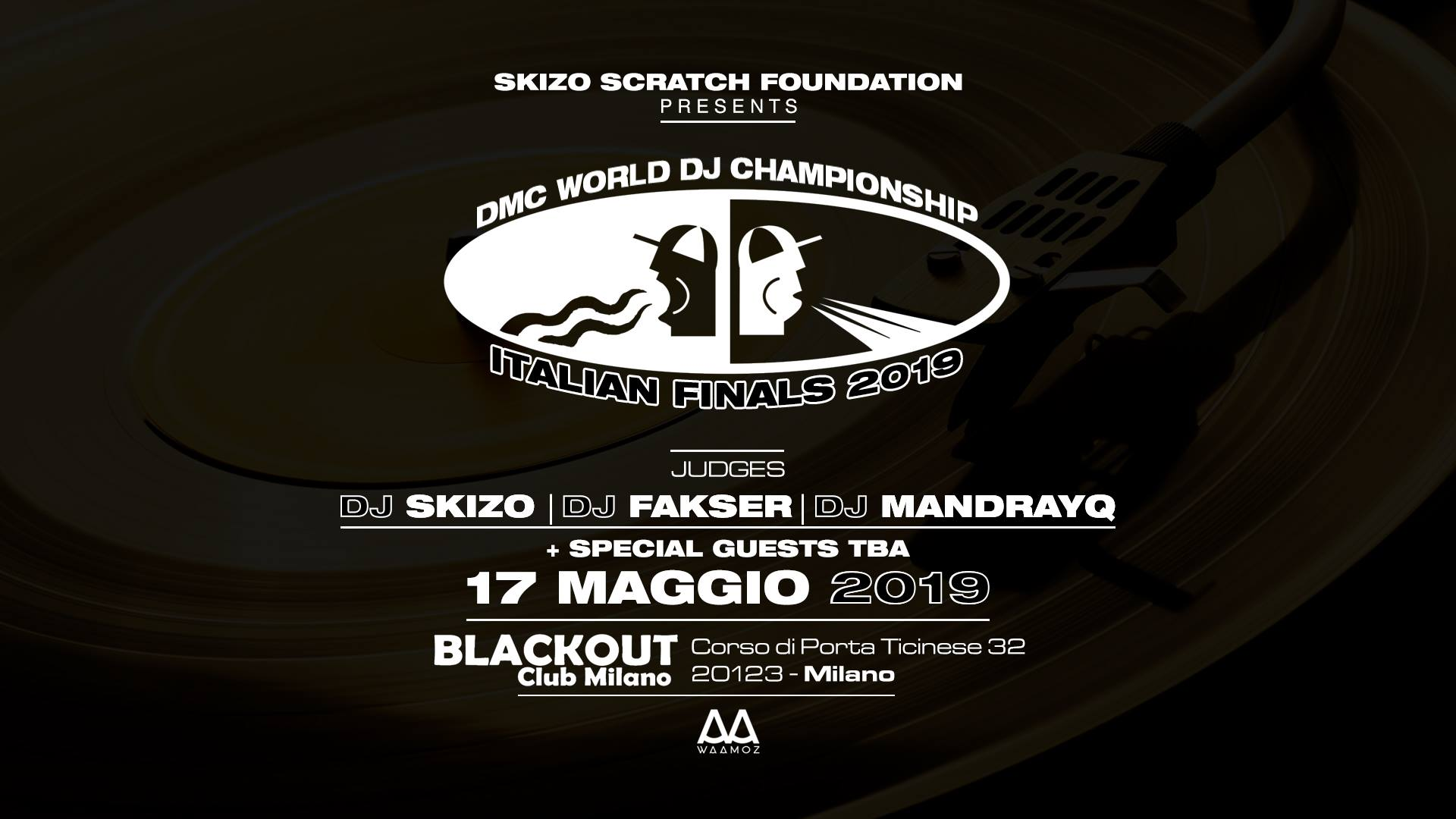 DMC WORLD DJ CHAMPIONSHIP – ITALIANS FINAL 2019