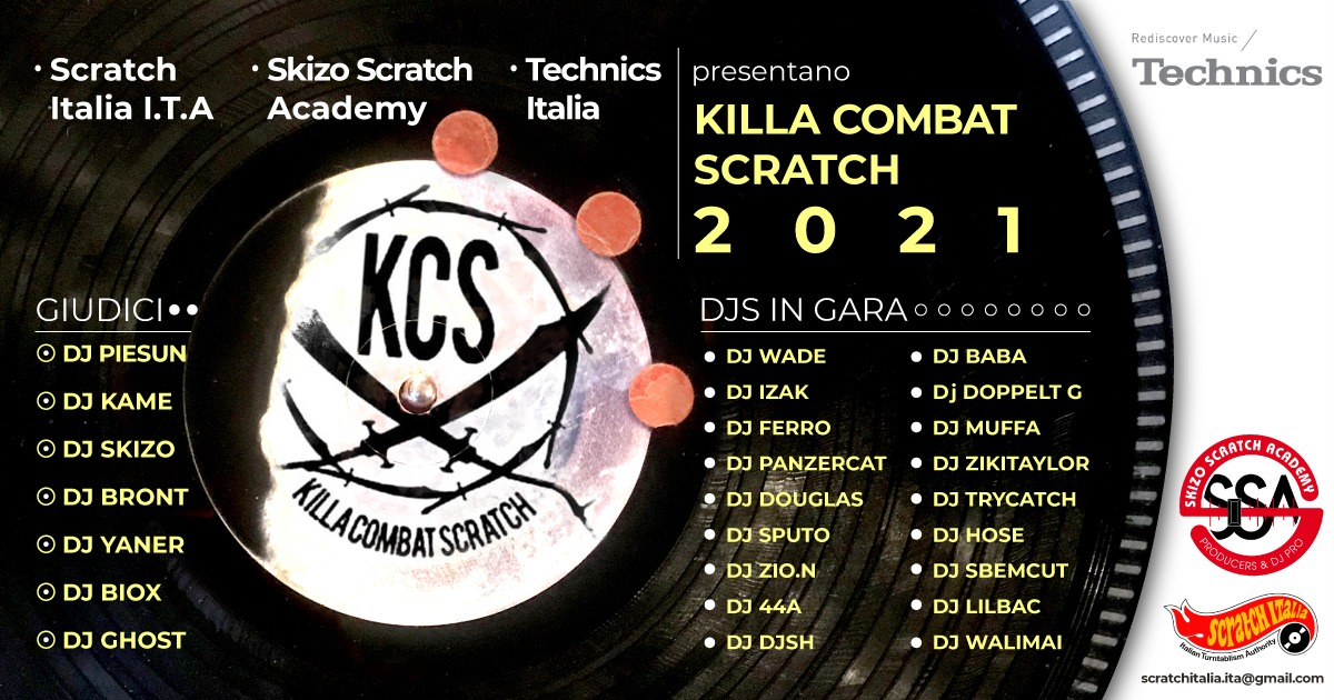 KILLA COMBAT SCRATCH 2021 TECHNICS EDITION